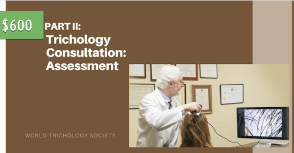 PART II: THE TRICHOLOGICAL CONSULTATION: ASSESSMENT