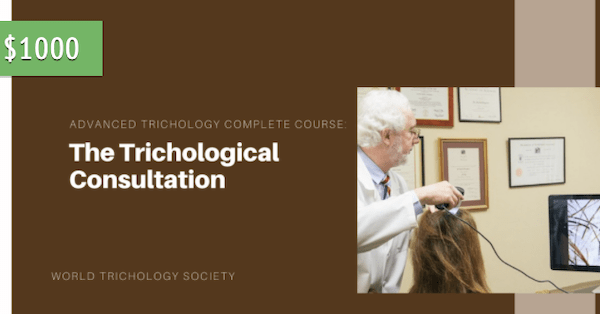 The Trichological Consultation