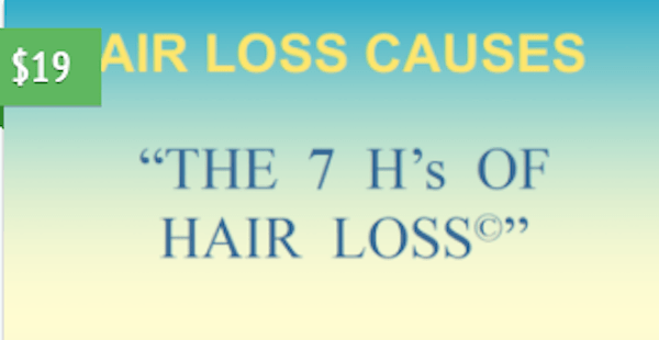 7 H's of Hair Loss© Course